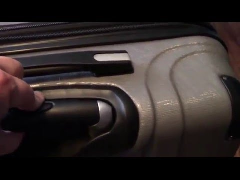 Ricardo Beverly Hills 2-piece Hardside Spinner luggage Set Unboxing