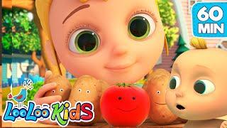One Potato, Two Potatoes -  LooLoo Kids Best EDUCATIONAL KIDS SONGS