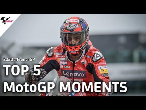 アレックス・マルケスが2位!雨のMotoGP フランスGP 決勝レースハイライト動画