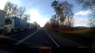 preview picture of video 'Очередь в Беларусь из Польши 10 км (п/п Кузница)'