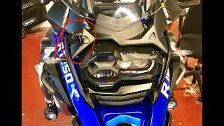 INNOVV K2 footage on BMW R1250 GSA (vs. GoPro Hero 5 footage)