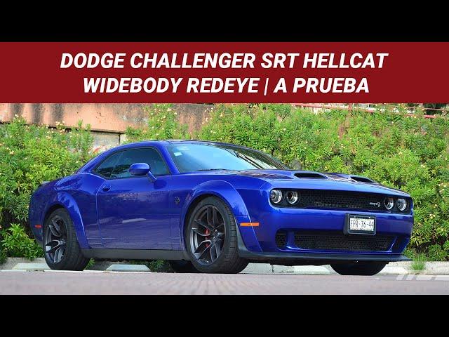 Dodge Challenger SRT Hellcat Widebody Redeye, a prueba: desafio a la tracción y a la cordura