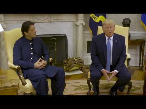 When Imran Khan met Donald Trump