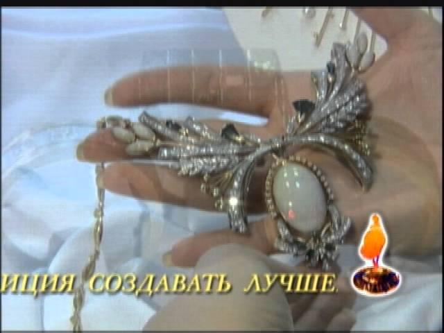 A Decadent Era-inspired Sapphire Earrings. 585 (14kt) Rose Gold, White & Black Rhodium. Video Thumbnail