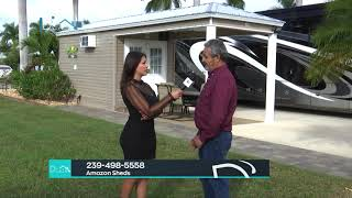 D'CASA P43 Amazon Sheds & Gazebos, Michelle Benitez, Filiberto Rodriguez