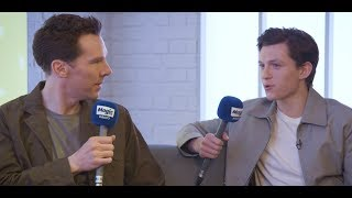Benedict Cumberbatch and Tom Holland, Full Interview | Magic Breakfast