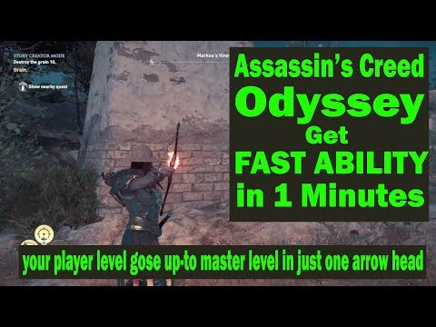 Assassin's Creed Odyssey - Get Fast Ability to increase Player Level up-to level +99(Master Level)