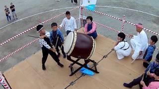 7月29日(土)『坪井小学校盆踊り』参加しました( ^ω^ )