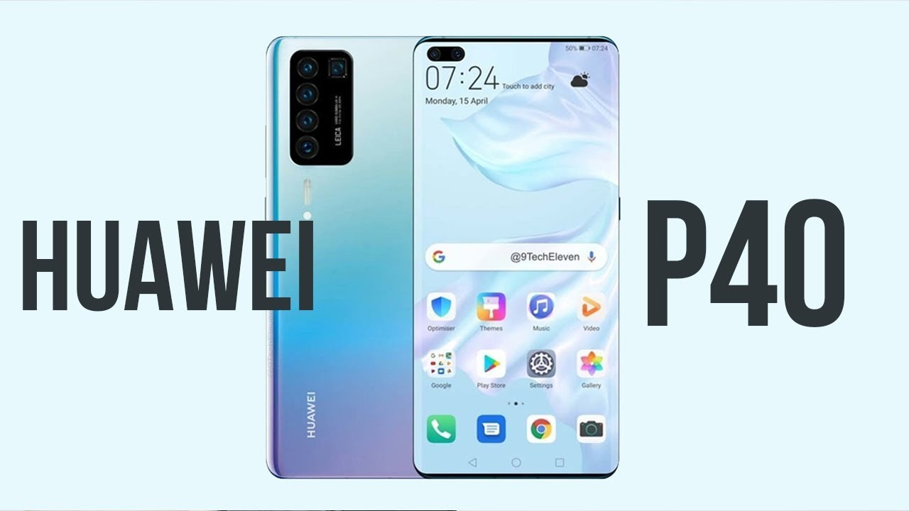 Huawei P40 sẽ trang bị tới 5 Camera