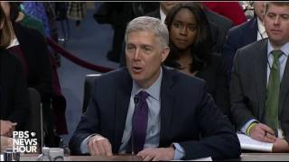 Judge Gorsuch Talks about Justice Jackson's Concurring Opinion in Youngstown
