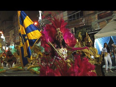 Veja como foi o desfile da escola de samba do Grupo A Globo de Ouro