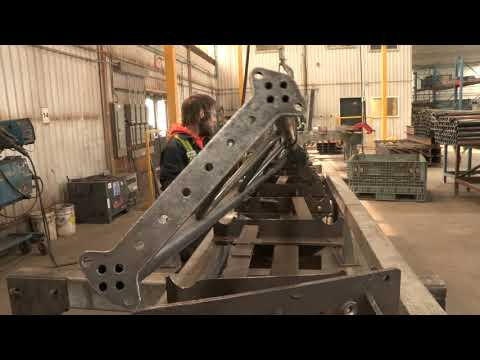 Virtual tour of Britespan's manufacturing facilities: weld stations