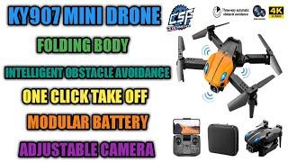 Ky907 mini drone | rc drone mini | dual camera drone