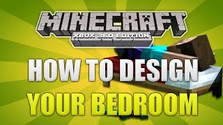 """Minecraft Xbox 360 - How To Design/Decorate"" Your Bedroom Simple Layouts [TUTORIAL!]"