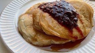 pancake recipe with baking soda and no milk