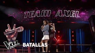 """Amorina Alday vs Camila Canziani - """"Princesa"""" - Tini  - Batallas - La Voz Argentina 2018"""