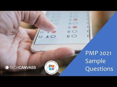 PMP Sample Questions | PMP 2021 Exam Pattern | Techcanvass ...