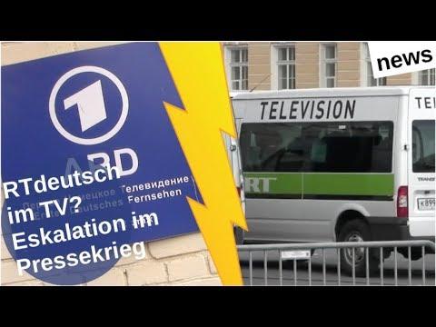 RT deutsch im TV? Eskalation im Pressekrieg [Video]