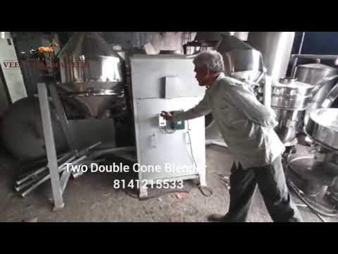 RBI 25 Double Cone Blender Machine