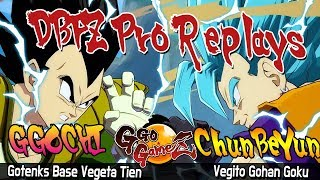 DBFZ ChunBeYun Vs GGOCHI [Dragon Ball FighterZ] Pro Replays