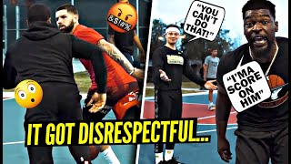 Things Got DISRESPECTFUL SO FAST! Everybody Wanted SMOKE vs White Iverson & Aquille Carr!