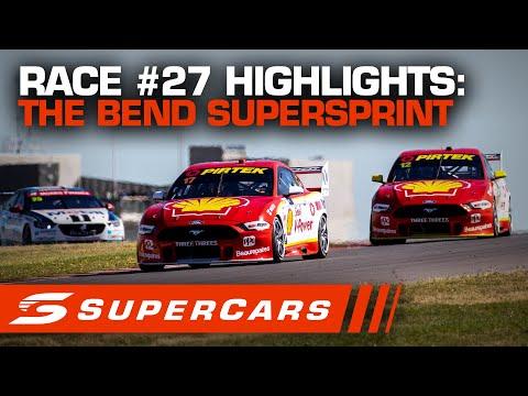 2020年 SUPERCARS OTRザベンド500 スーパースプリント#27決勝レースハイライト動画