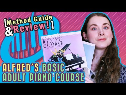 Alfred's Basic Adult Piano Course [Method Guide + Review]