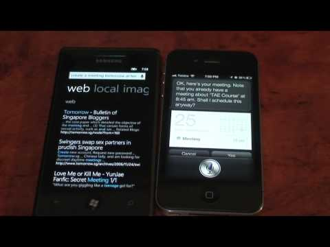 0 Microsoft TellMe vs. Apple Siri