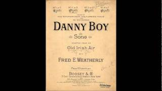 The Man Who Wrote Danny Boy
