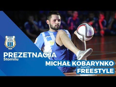 Pokaz Freestyle Football na prezentacji Stomilu Olsztyn (28.03.2018 r.)
