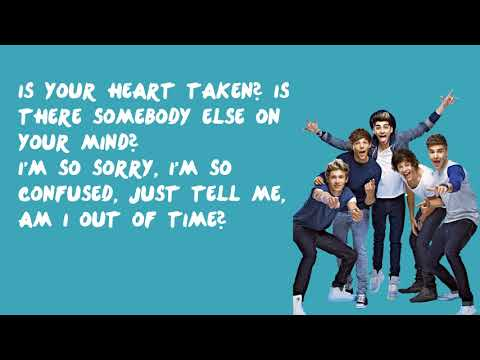 I Should Have Kissed You - One Direction (Lyrics)