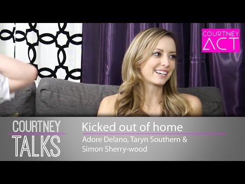 Kicked out of home? Courtney Talks with Adore, Taryn & Simon