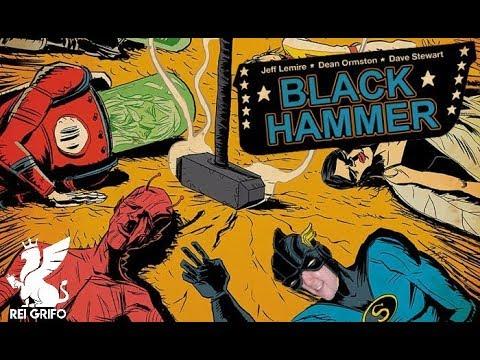 Resenha do Rei Grifo: Black Hammer - Origens Secretas