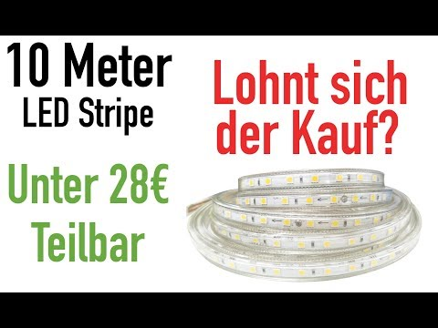 28€ 10M LED STRIPE: TOP ODER FLOP??