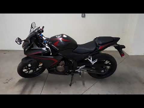 2021 Honda Powersports CBR500R ABS