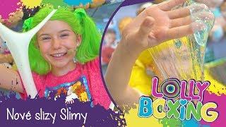 Lollyboxing 27 - Nová kolekce slizů Slimy!