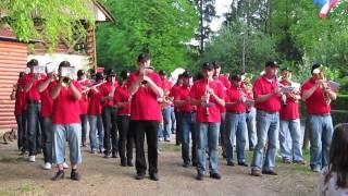 preview picture of video 'Godba Lukovica zaigrala na predvečer praznika dela'