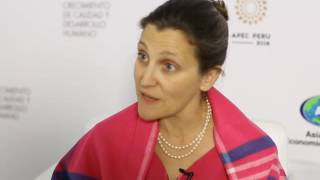 Hon. Chrystia Freeland, Minister of International Trade, Canada