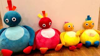 Twirlywoos Twirly woos CBeebies Great Big Hoo Toodledoo Chickedy Chick Peekaboo