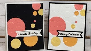 Birthday Banners   Clean And Simple - Stampin Up!