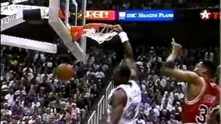 Karl Malone Dunk Highlights 1997-99
