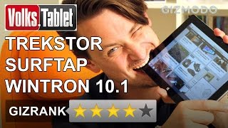 Test: TrekStor SurfTab Wintron 10.1 – Was kann das 200 Euro Volks-Tablet?