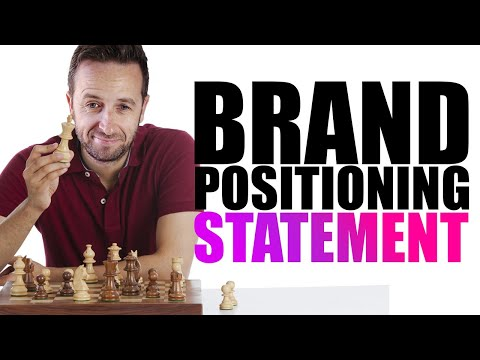 How To Write A Positioning Statement (Brand Template + Example)