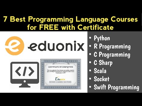 7 Best Programming Language Courses for Free with Certificate ...