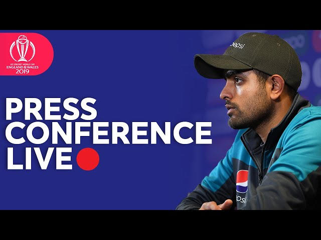 Post Match Press Conference Pakistan VS New Zealand | ICC Cricket World Cup 2019