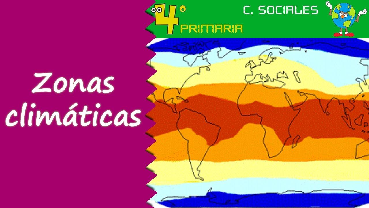 Ciencias Sociales. 4º Primaria. Tema 2. El clima