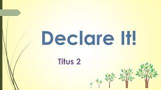 Declare It!