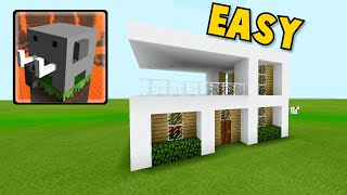 How To Make Modern House In Craftsman:building Craft