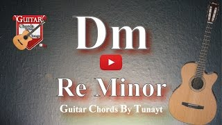 How To Play Dm Chord On Guitar | Re Minor Akoru Gitarda Nasıl Basılır ?