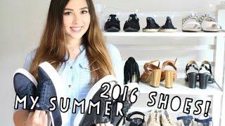 Мои покупки обуви на лето 2016! (11 пар обуви!)